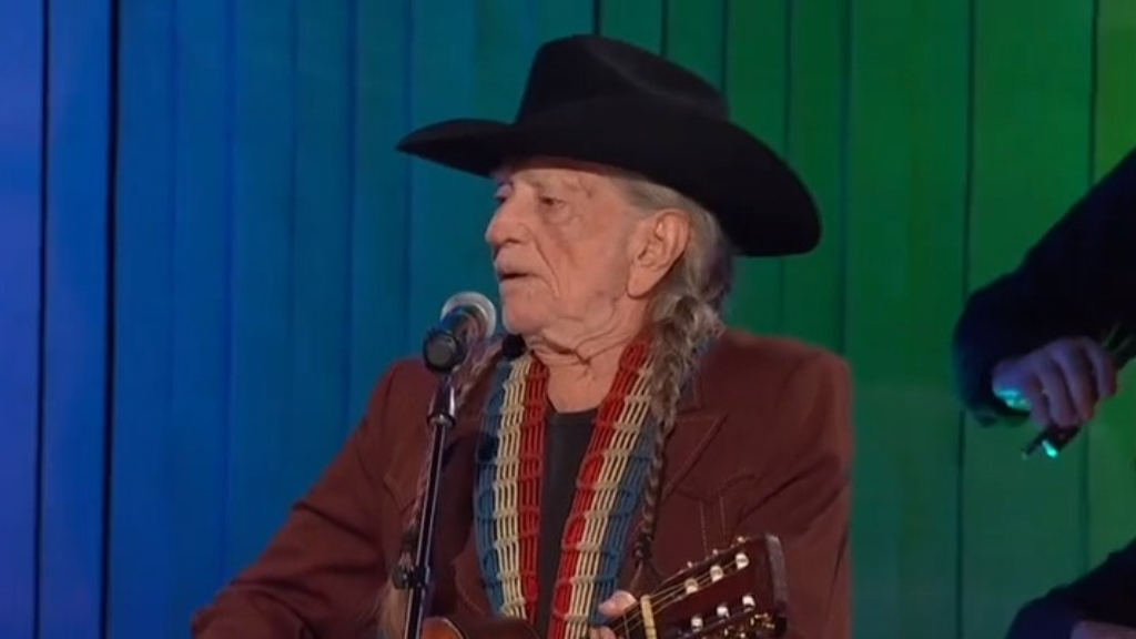 Willie Nelson performs at the CMA Awards last month