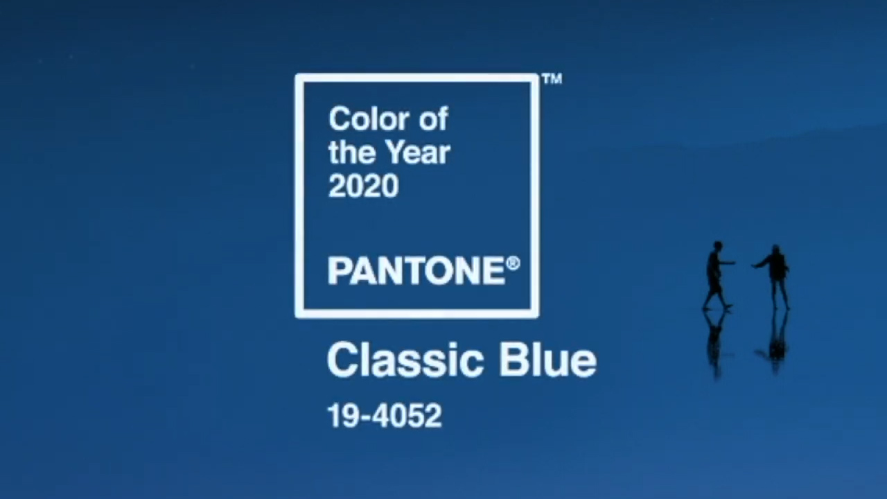 Pantone reveals the 2020 Colour of the Year is classic blue