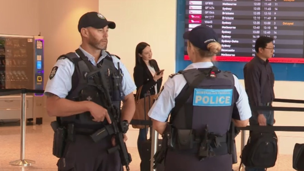 Anti-terror police to patrol airports
