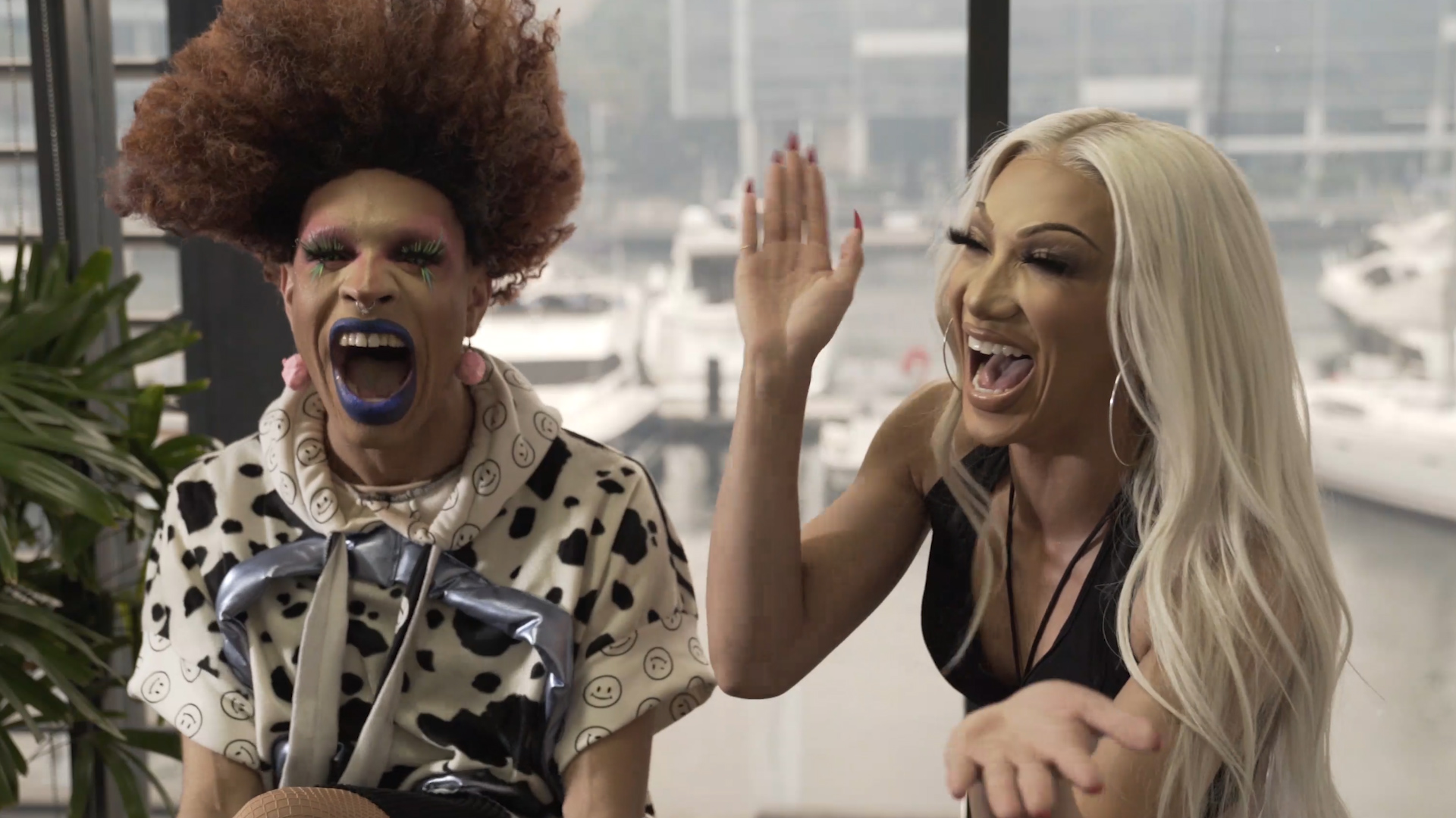 Yvie Oddly and Plastique Tiara reveal what inspired their drag personas