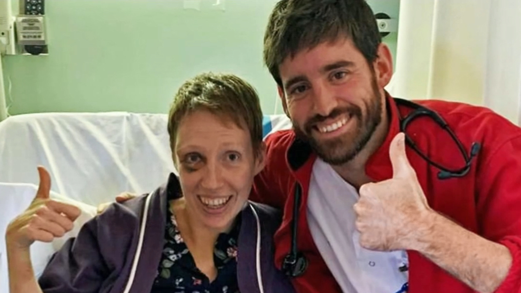 Woman revived after heart stopped for six hours