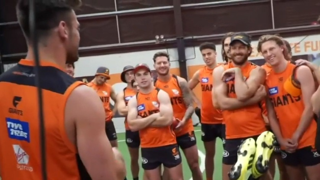 GWS learn of Whitfield's seven-year deal
