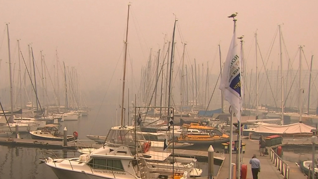 Big Boat Challenge cancelled due to smoke