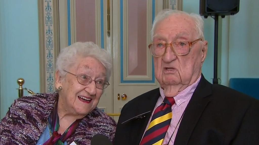Centenarians honoured at Governor's celebration