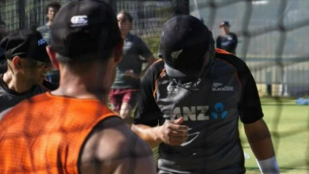 NZ's Taylor injured in nets