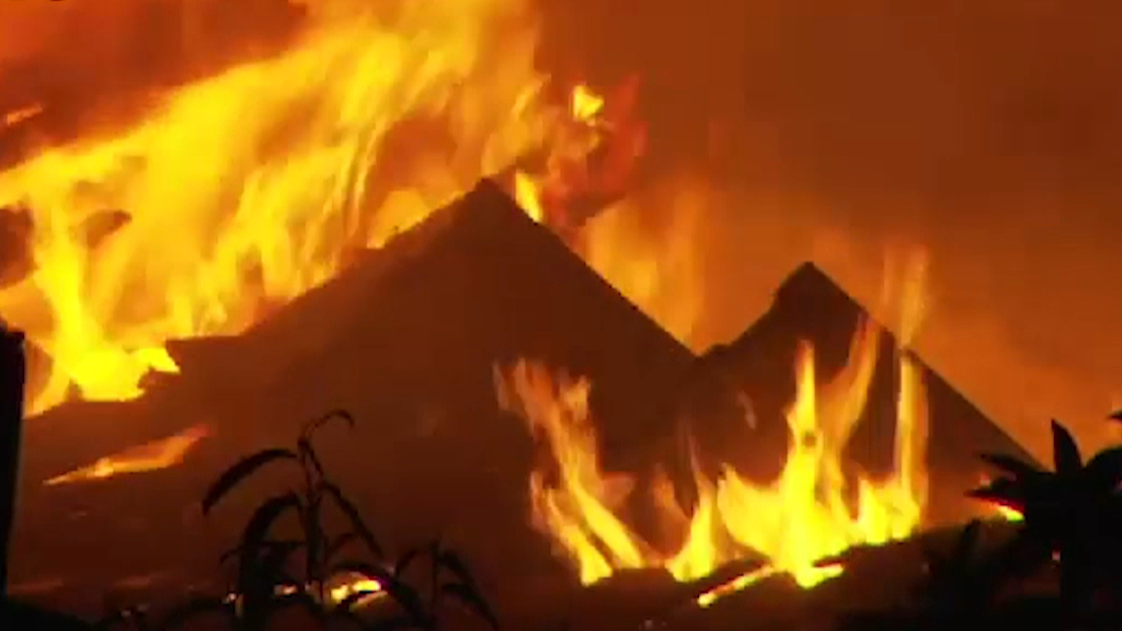 House fire erupts in Adelaide