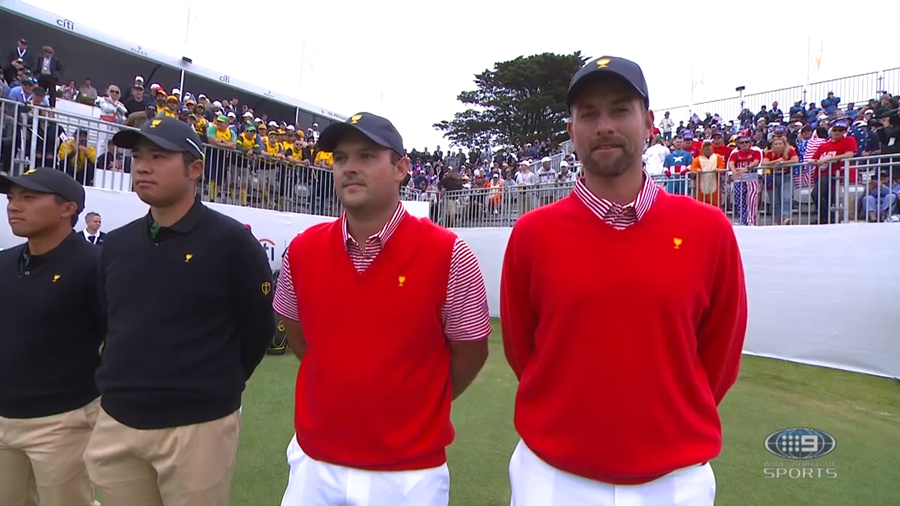 Patrick Reed booed at the Presidents Cup