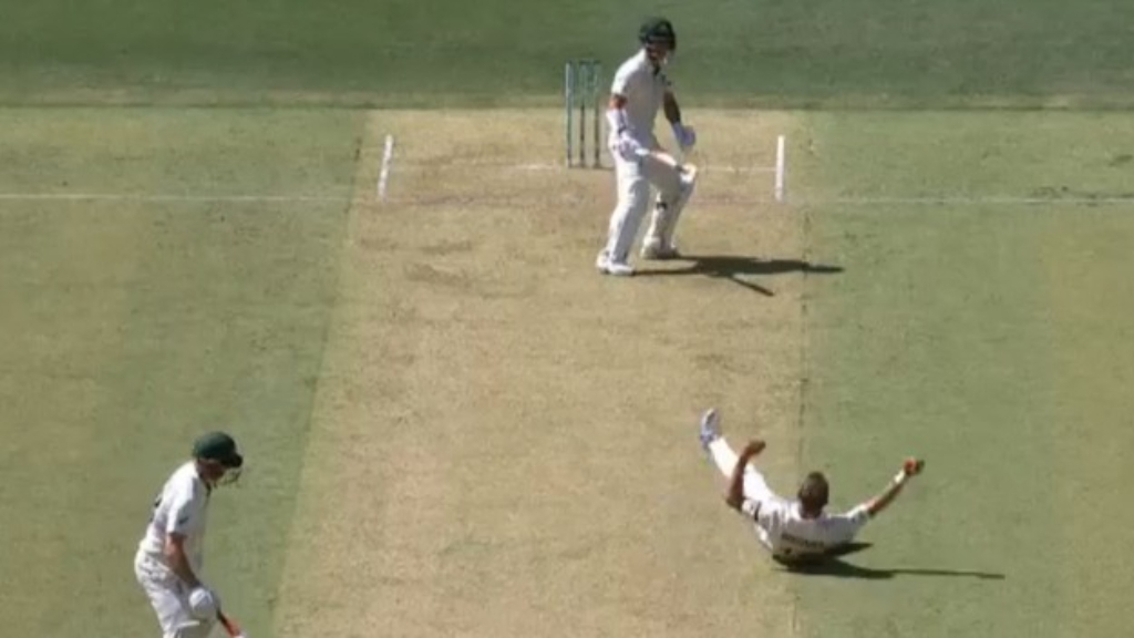 Warner falls to stunning Wagner catch