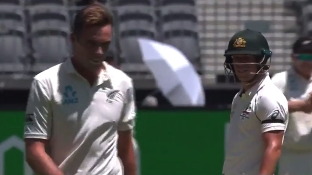Warner's cheeky NZ sledge