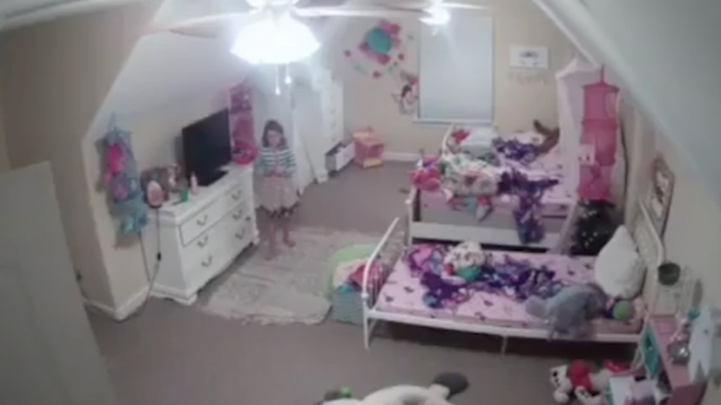 Hacker watches eight-year-old through family security camera