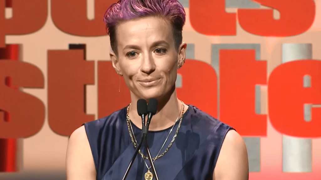 Rapinoe slams Sports Illustrated