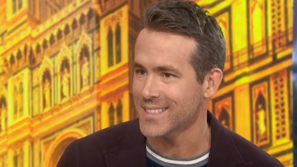 Ryan Reynolds plays coy about newborn daughter's name