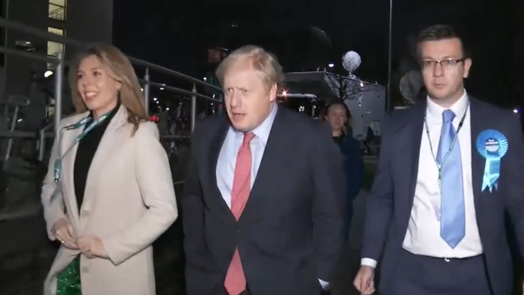 Boris Johnson set to win UK election
