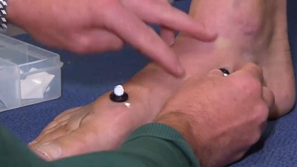 Foot pain pressure
