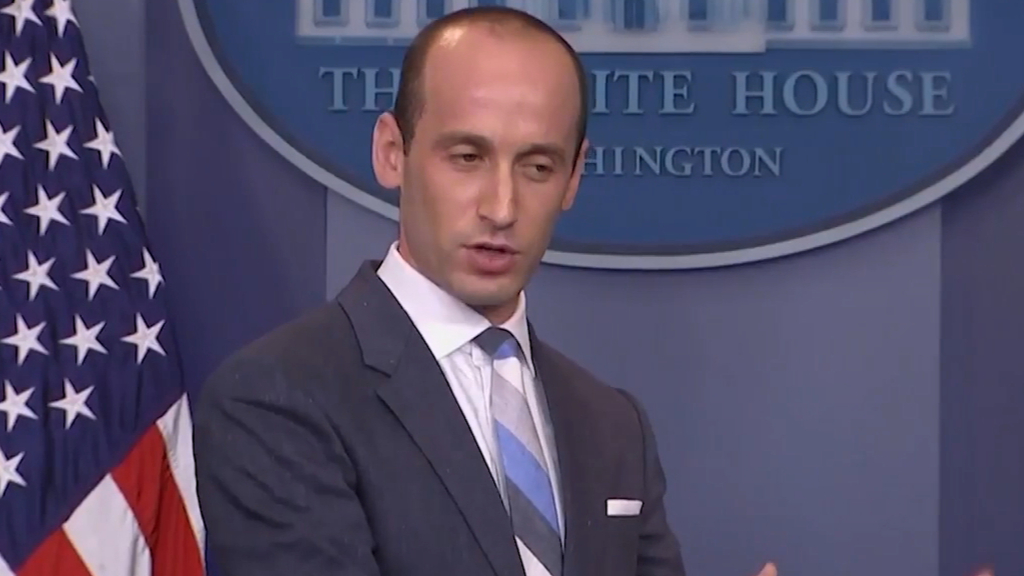 White house advisor Stephen Miller talks immigration
