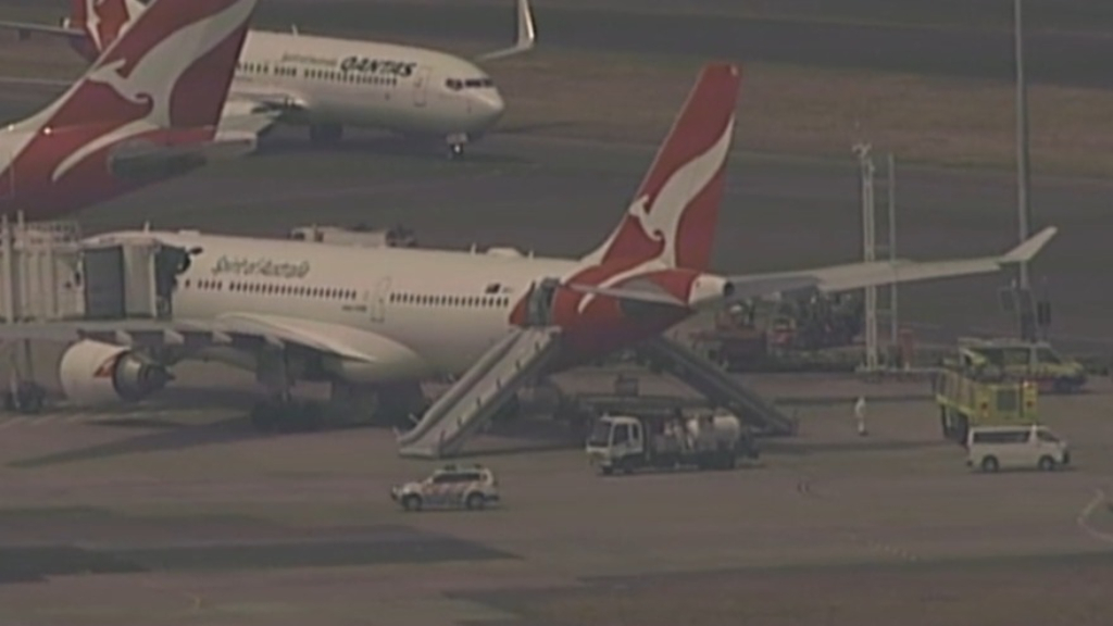 Qantas passengers in 'terrifying' incident