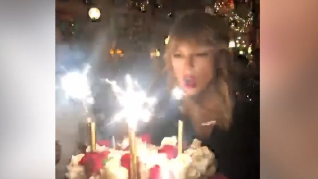 Taylor Swift celebrates her 30th birthday