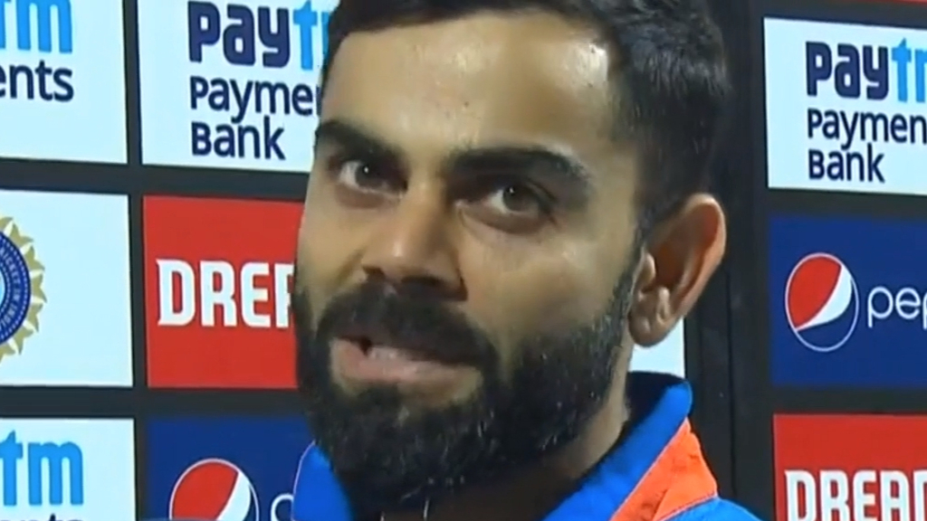 Kohli angry at run-out decision