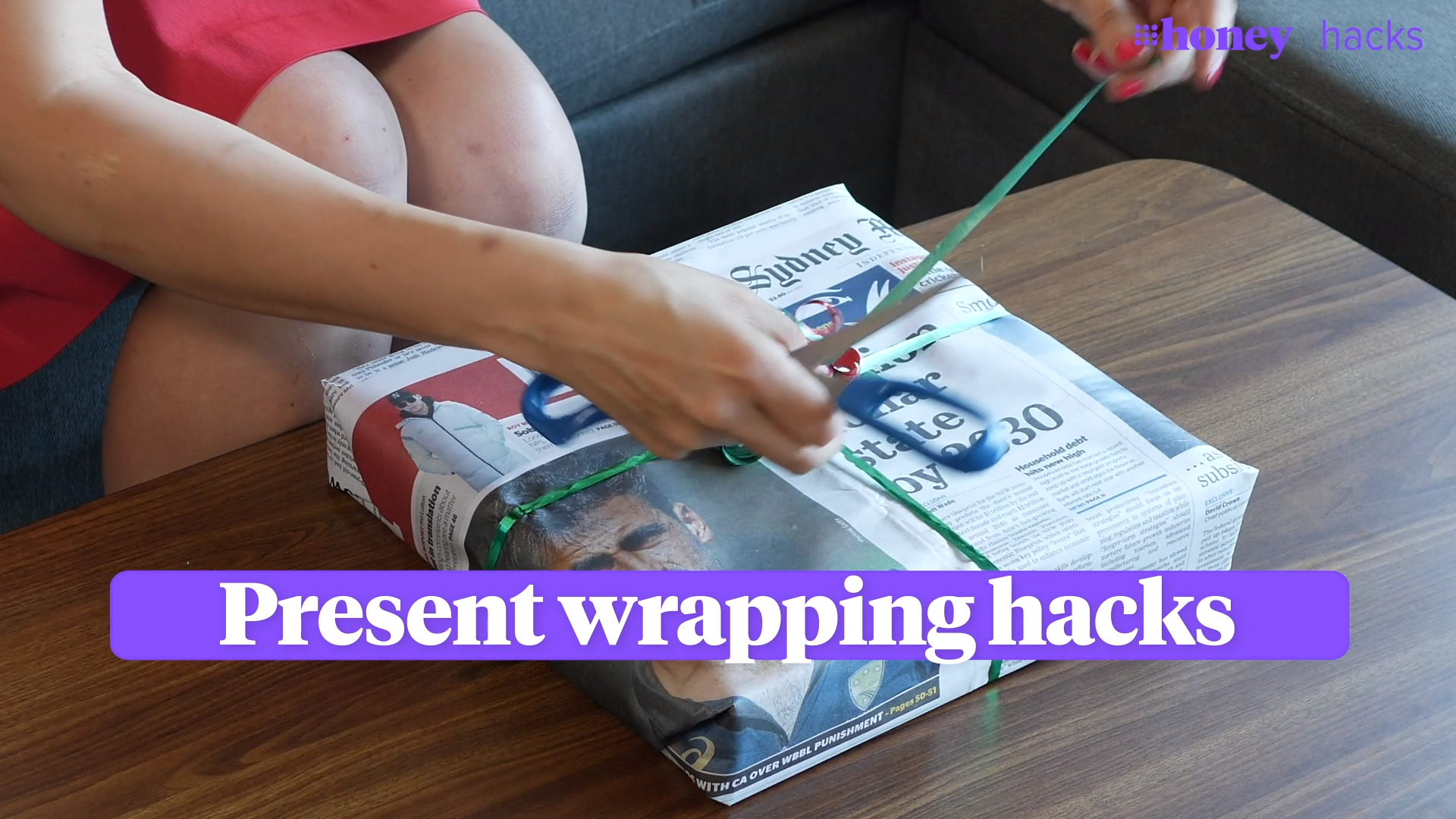 Simple present wrapping hacks