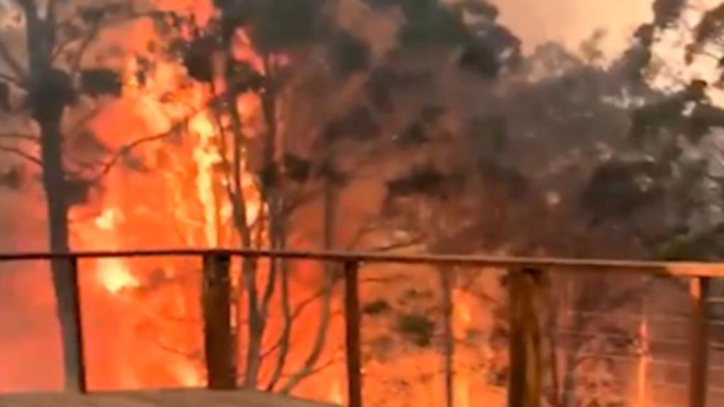 """Burning flames fire biker scooter rock trades mens heavy duty 2/"""" wide braces"""