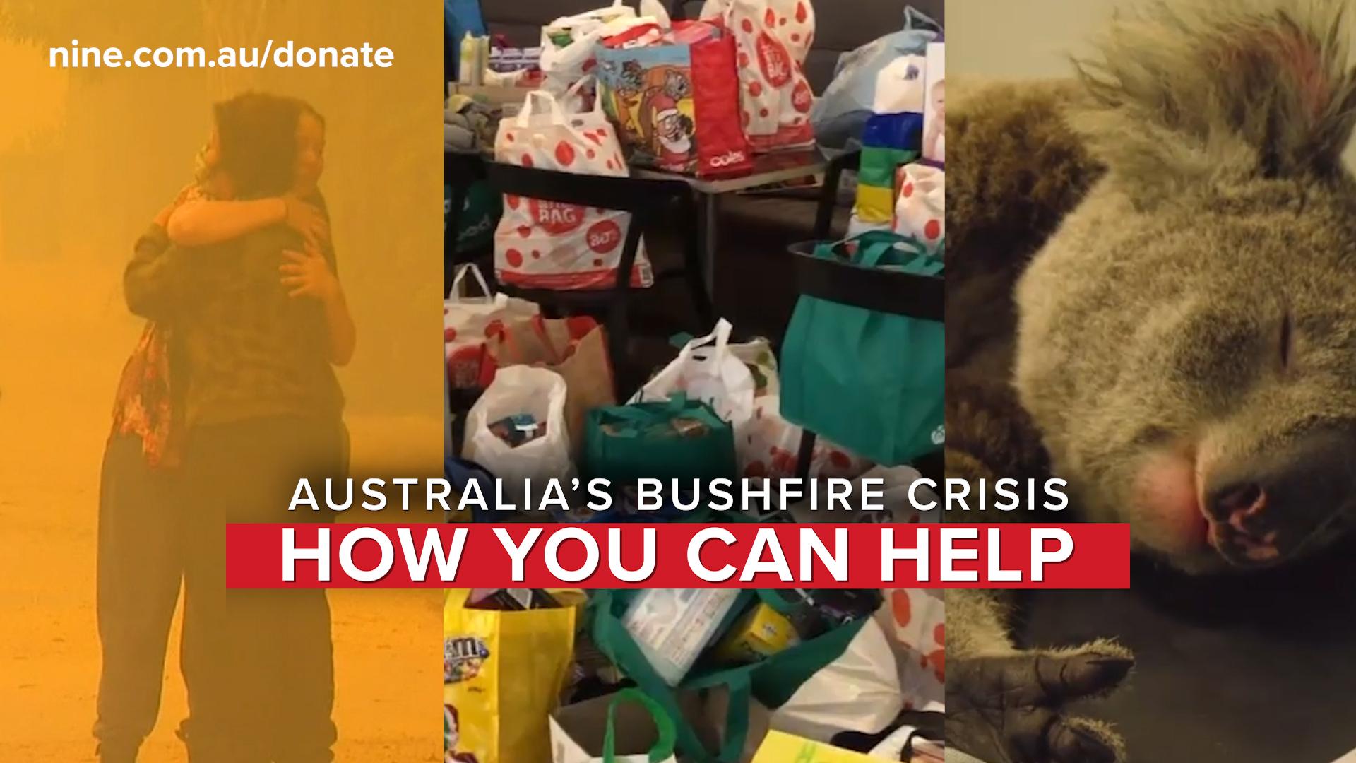 Australian bushfires: How you can help