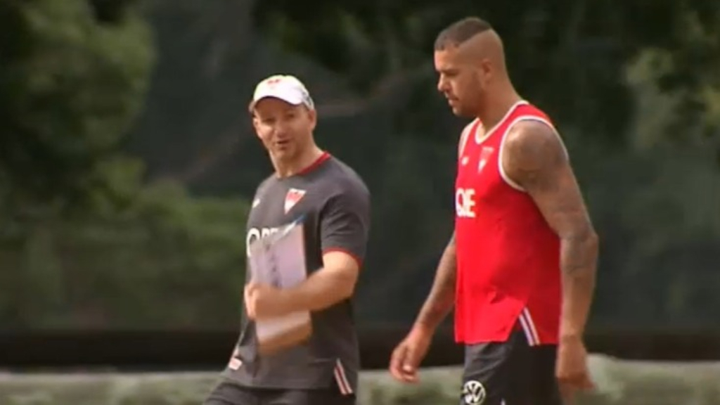 Buddy Franklin sidelined