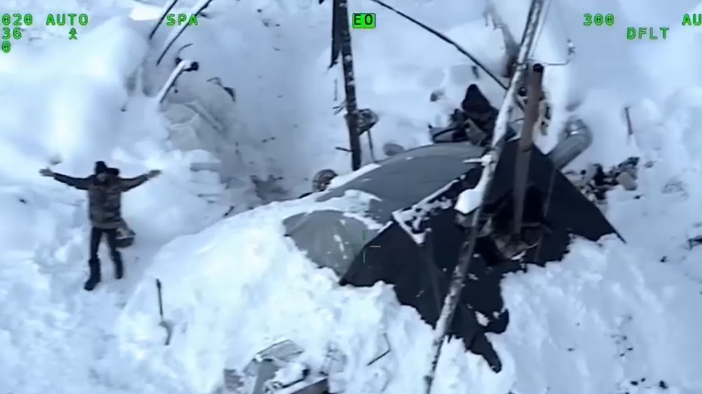 Utah man rescued after surviving for three weeks in snowy wilderness