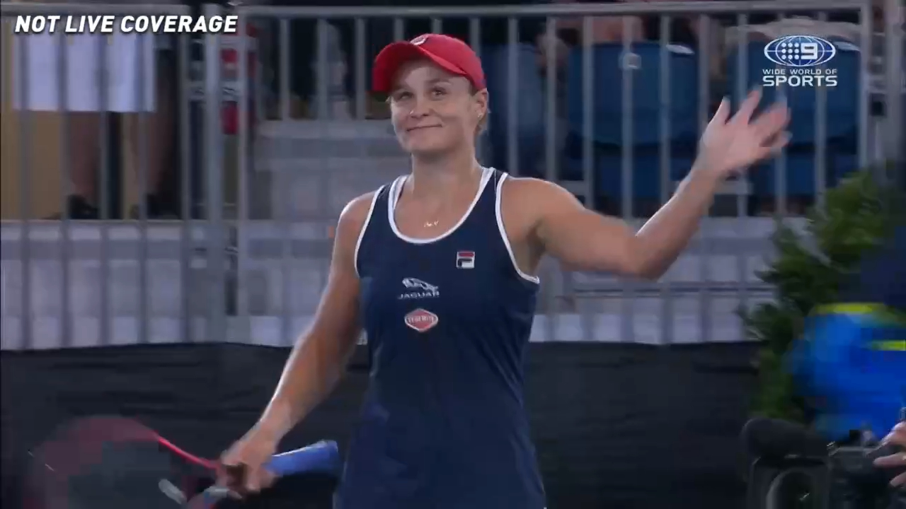 Ash Barty wins through to the Adelaide International semi-finals