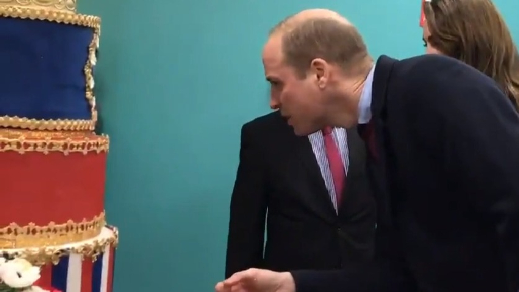 Prince William mistakes photo of him with one of his kids