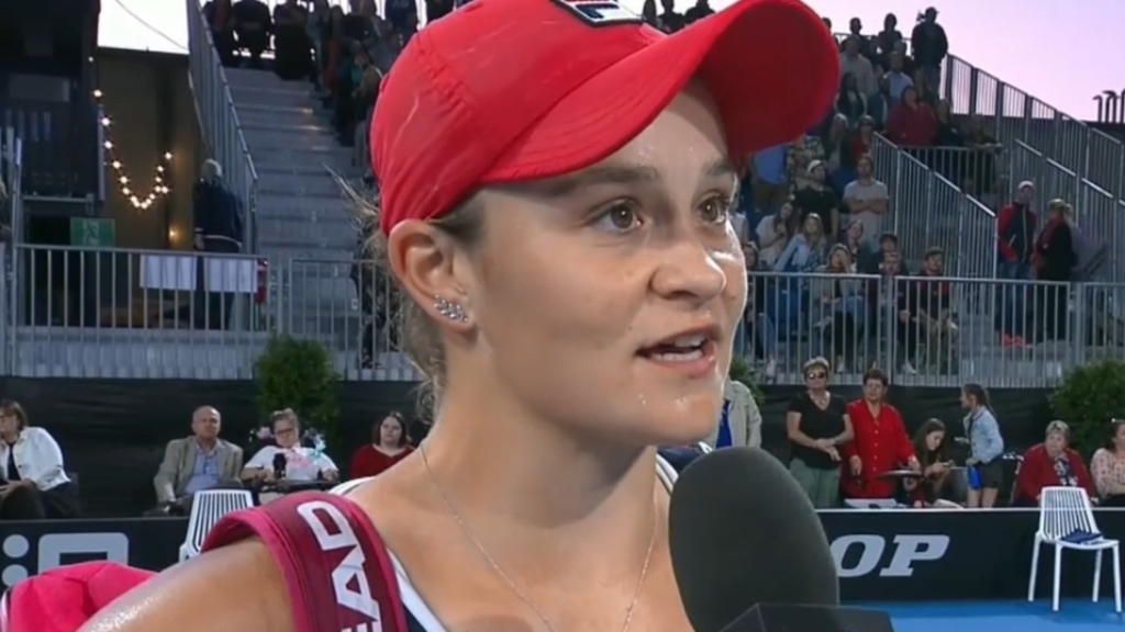 Barty into Adelaide International final
