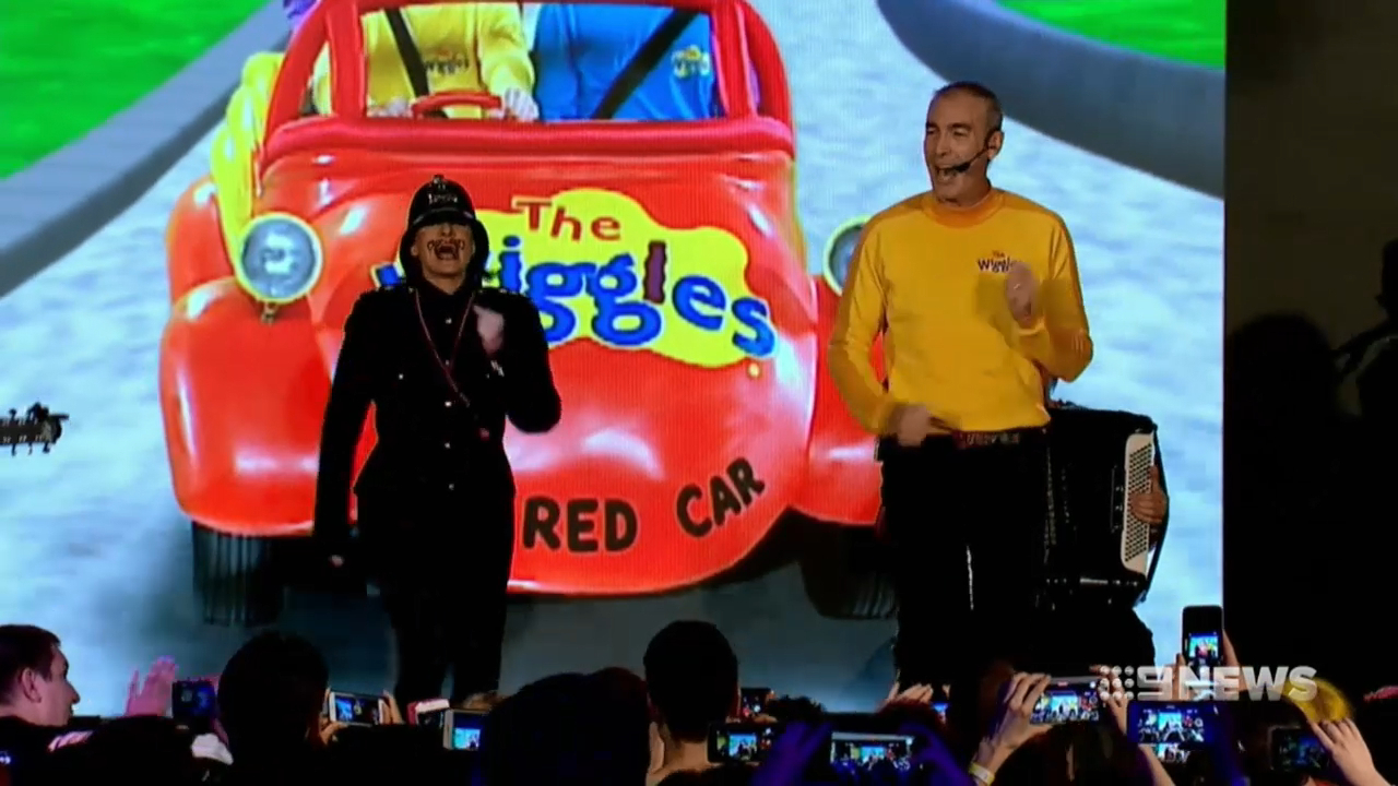 The Wiggles' Greg Page collapses on stage