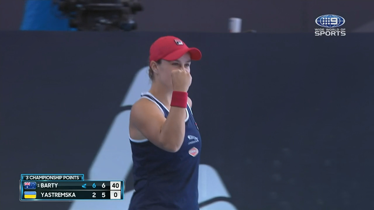 Ash Barty wins the Adelaide International