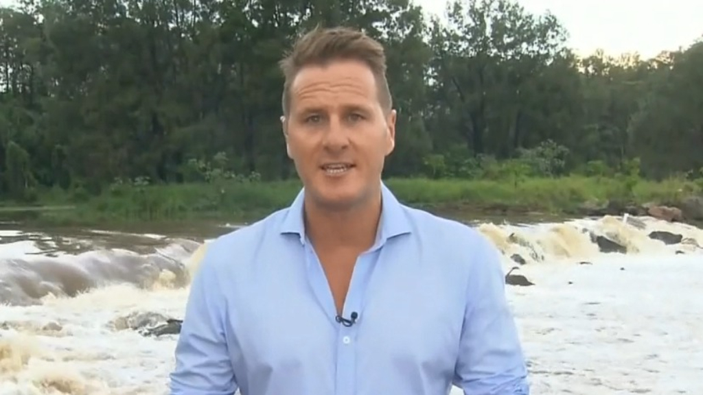Rainfall hits south-east Queensland