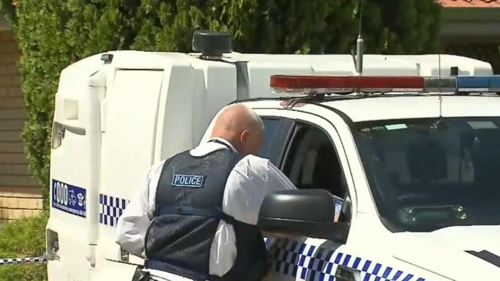 Homicide detectives swarm Perth home