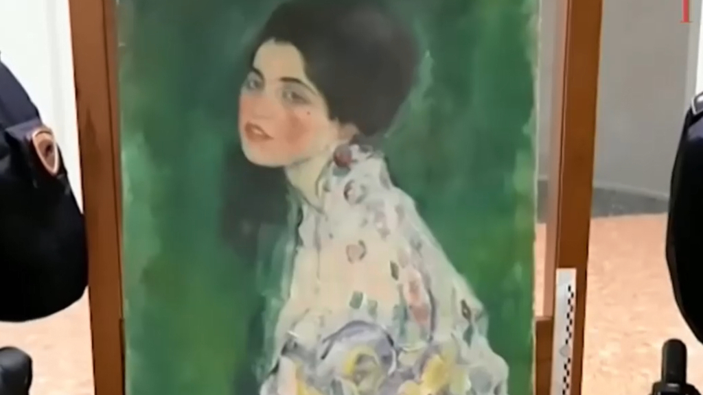 Painting found in wall confirmed as missing Klimt