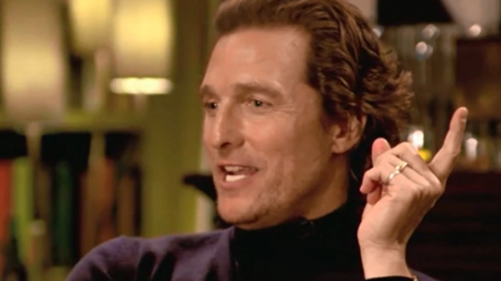 Matthew McConaughey and Hugh Grant set their parents up on a date