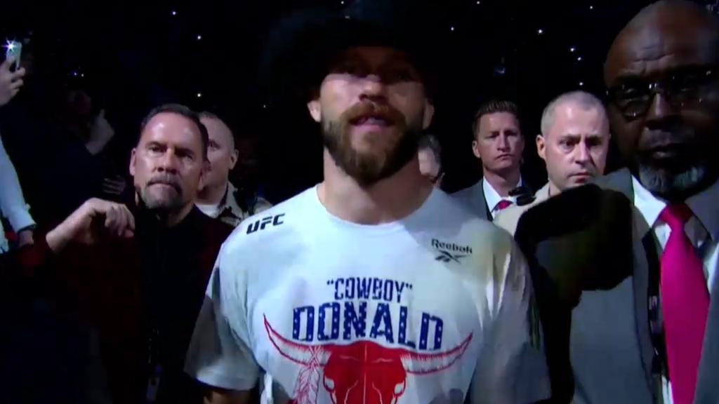 Cowboy's UFC 246 walk-out