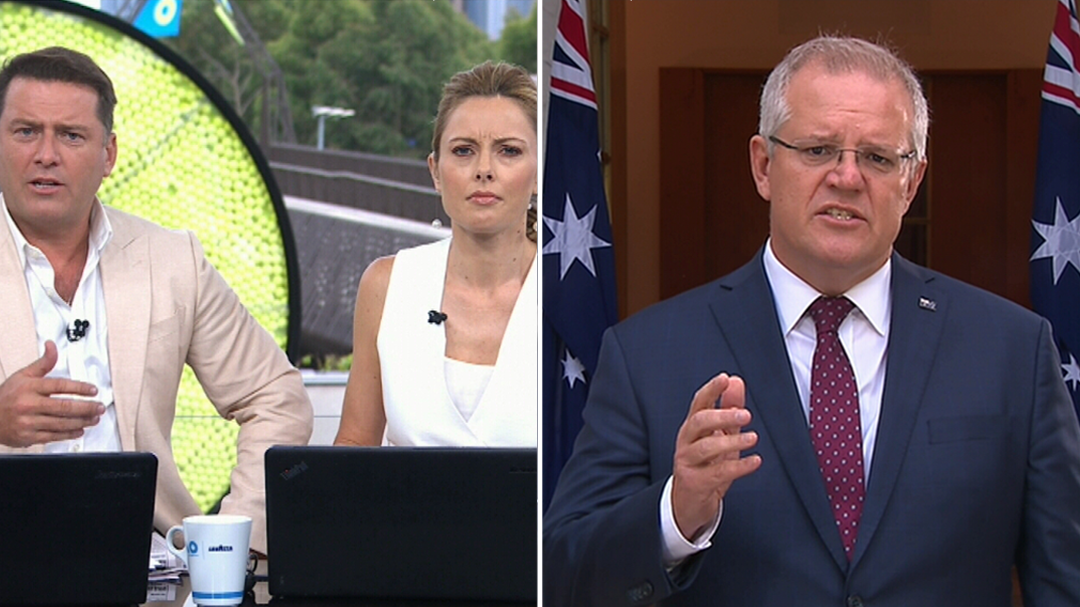 Morrison says MPs push for action on climate change is 'a beat up'