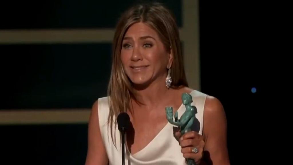 SAG Awards 2020: Jennifer Aniston wins for The Morning Show