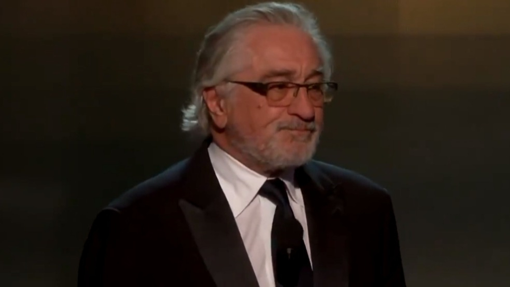 SAG Awards 2020: De Niro calls out Trump in speech