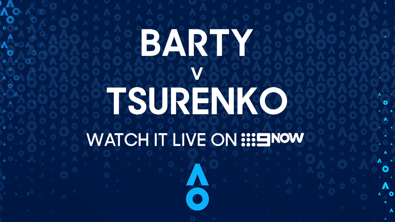 Ash Barty v Lesia Tsurenko - AO Highlights