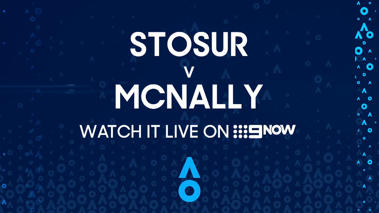 Sam Stosur v Caty McNally: AO Highlights