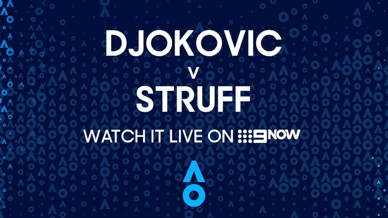 Novak Djokovic v Jan-Lennard Struff: AO Highlights