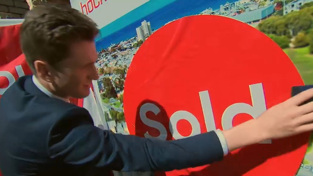 Median sale price for a home in Melbourne hits record high