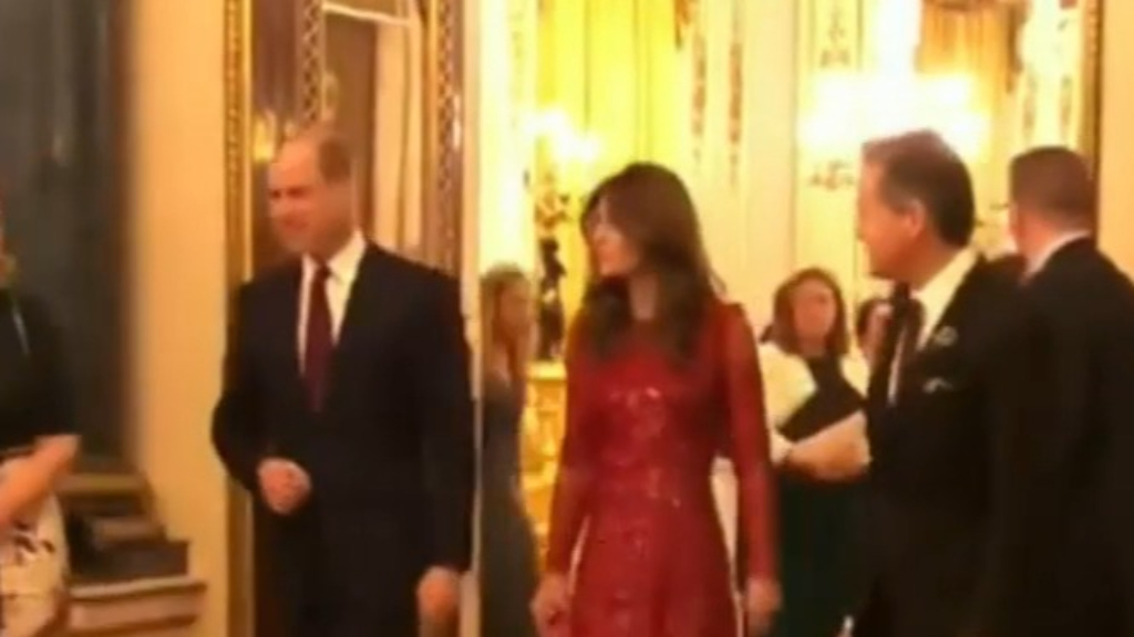 William and Kate host palace reception without Harry