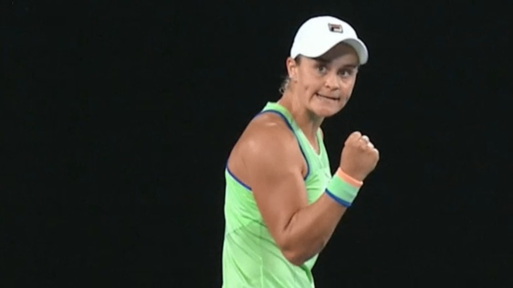 Groth weighs in on Barty, Stosur