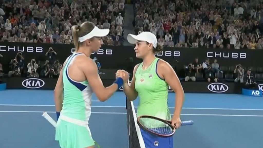 Goolagong on Barty's Open campaign