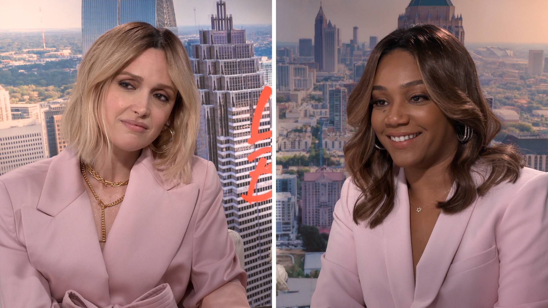 Tiffany Haddish and Rose Byrne talk chasing their dreams
