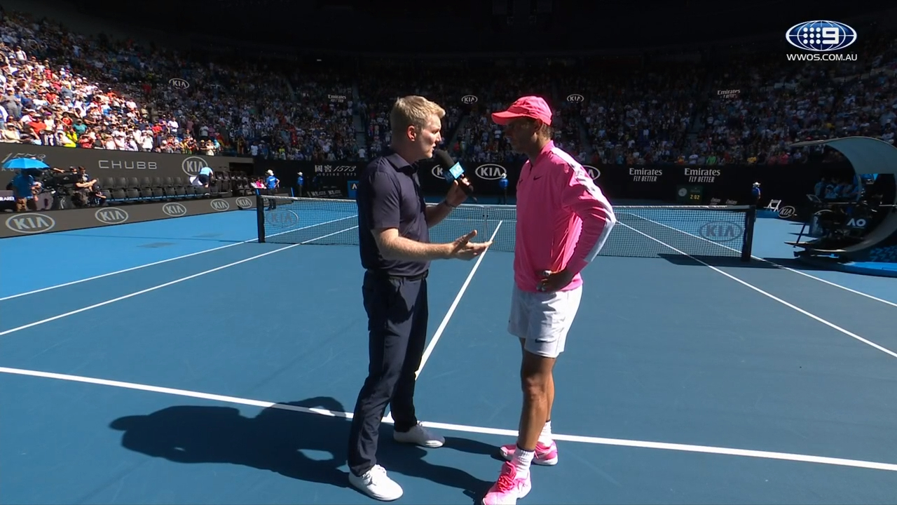 Rafael Nadal's Candid Interview