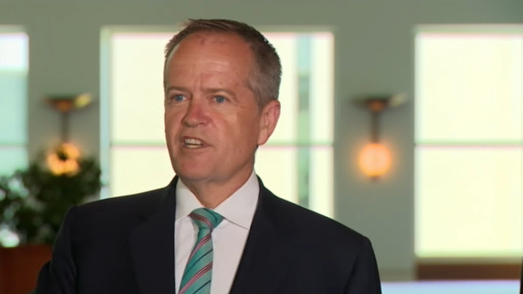 Bill Shorten on Bridget McKenzie's sports rorts scandal